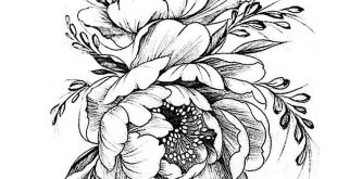 Pattern Flower Drawing With Colour Best 25+ Flower Tattoo Designs Ideas On Pinte...