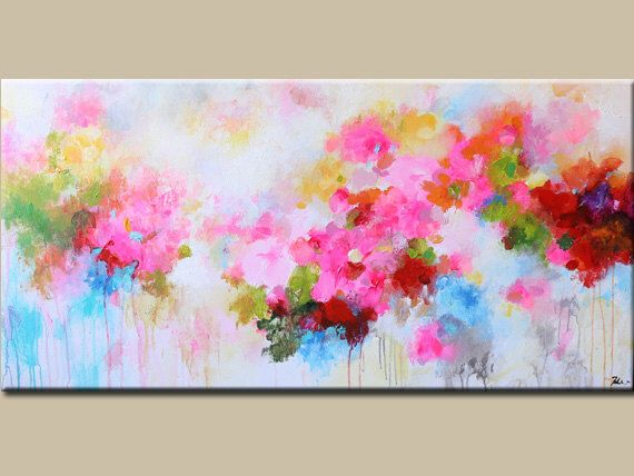 Abstract Painting Original Painting Flower Painting Abstract