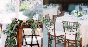 40 grüne Eukalyptus Hochzeitsdekor-Ideen