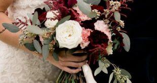 30 Hochzeitsbouquets im Herbst die so wunderschön sind dass Sie sich wünschen ...