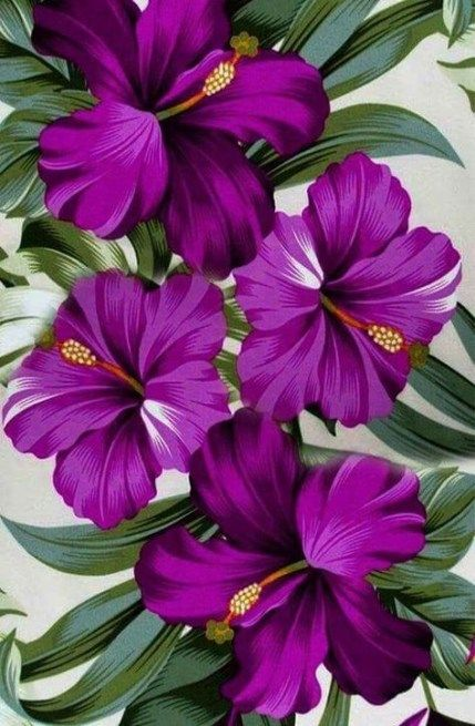 46 New Ideas For Painting Flower Purple Diy Flowers