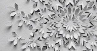50 einfache Papierschneidearbeiten für Anfänger