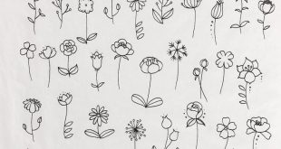 55 Simple Small Flowers Tattoos Drawing Tattoos Ideas For Women This Season