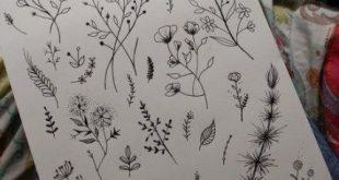 65+  Ideas Flowers Drawing Design Doodles
