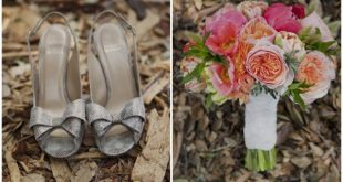Ashley's Vintage Peach Wedding