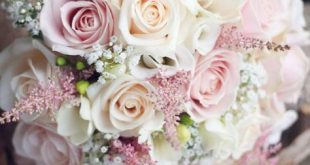 BRIDE'S BOUQUET IN THE WEDDING SYMBOLIZES HAPPINESS - Page 16 of 57