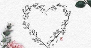 Herzförmig #tattoos