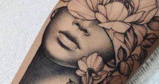 Künstler: Cameron Pohl – #Künstler #Cameron #Pohl – Tattoo ideen – #Cameron #i… #flowertattoos