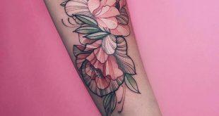 Nora Tinte bei Sasha Tattooing Moskau. Die Tiefe und Flachheit der Farbe und einige … #tattoos