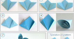 Origamizzunk: Natursektkugel