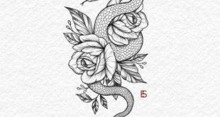 Tätowierung Schlangenarm Design 16 Ideen für 2019 #Design # für #Ideen #Schl … #flowertattoos