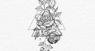 Zeichnen von Blumen / Flor / Mädchen / Tätowierung Feminina / Tatuagens Delica... #drawings #art